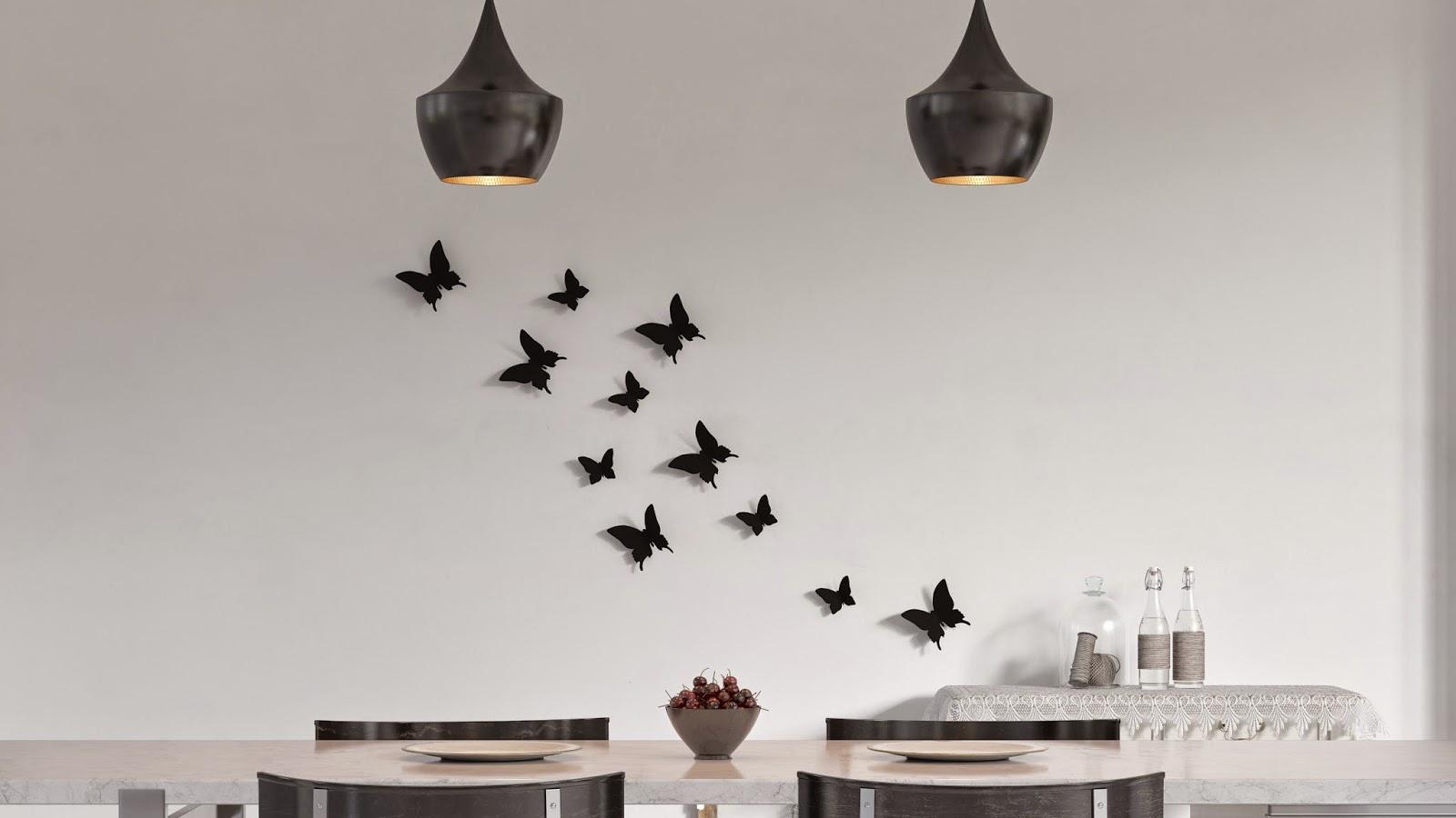 Adesivi murali tante idee creative per decorare la casa for Adesivi murali 3d