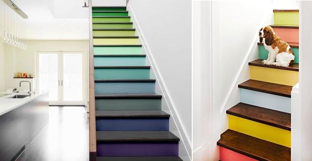 Decorare le scale mille modi per renderle un elemento for Scale in legno fai da te