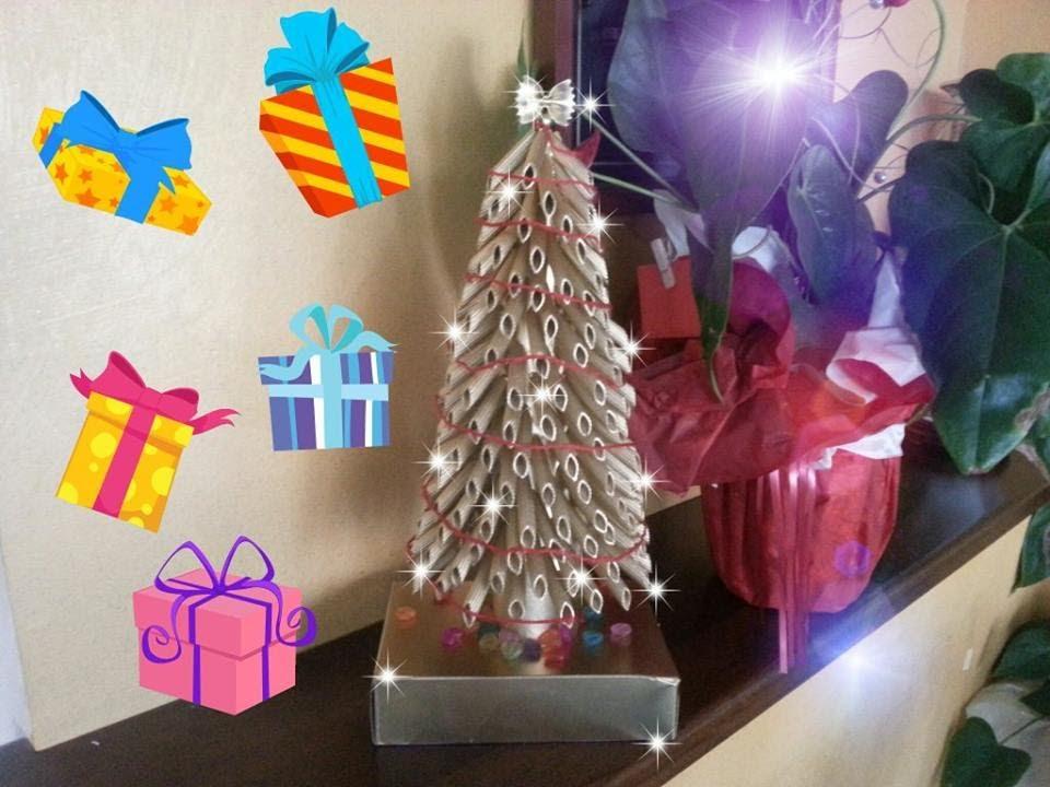 Tutor Lavoretti Di Natale.Albero Di Natale Fai Da Te Riciclo Creativo Con La Pasta